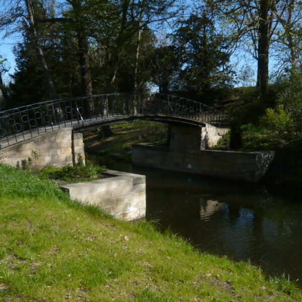 Agnesbrücke, Wörlitzer Park