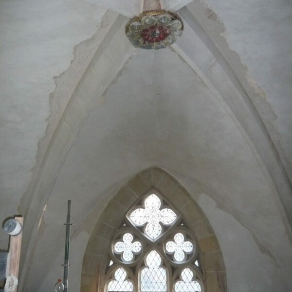 Kreuzrippengewölbe St. Nikolai