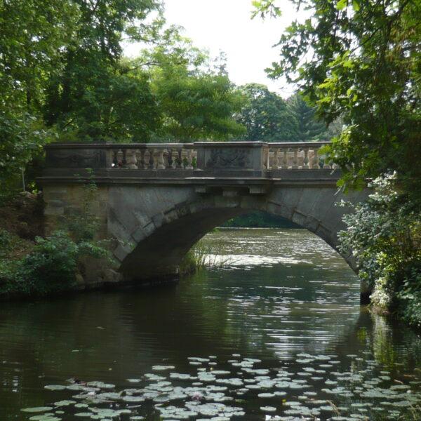Neue Brücke, Wörlitzer Park